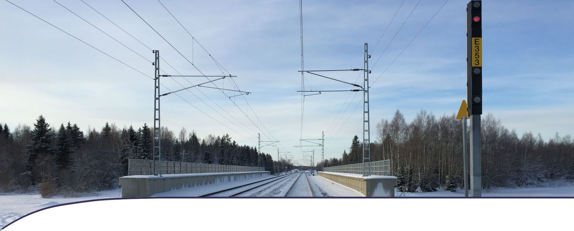 Mipro's railway systems ensure a safe rail traffic in Finland.