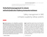 Signal & Draht: Safety management in SME company supplying railway systems